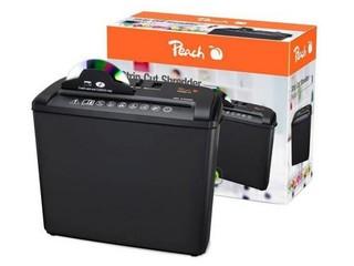 PEACH skartovačka Strip Cut PS400-11 na papír+CD/DVD (stupen utajeni 2) - 510650