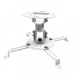 SBOX PM-18 otočný stropní držák s náklonem k projektoru, do 13,5kg, VESA od 54x54 do 320x320, bílý (