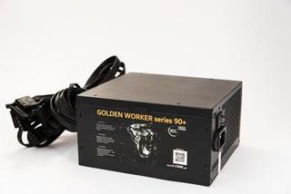 1stCOOL zdroj 750W GOLDEN WORKER 750 90+ s aktivnim PFC, ventilátor 140mm (zdroj do PC case)