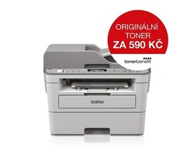 BROTHER Laser DCP-B7715DW Print/Scan/Copy, A4, 34str/min, USB, 250listů, LAN, duplexní tisk - multif