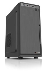 1stCOOL MiddleTower JAZZ 1, ATX black černý, bez zdroje, middletower ATX (2xUSB3+ Audio) (PC case)