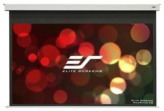 ELITE SCREENS EVANESCE EB120HW2-E8 elektrické roletové plátno závěsné, 265x149cm, úhlopříčka 120 palců, 16:9, bílé pouzdro a černé okraje