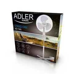 ADLER Stojanový ventilátor AD 7305 , bílý