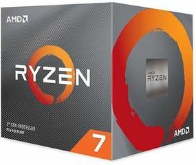 AMD cpu Ryzen 7 3700X AM4 Box (s chladičem, 3.6GHz / 4.4GHz, 32MB cache, 65W, 8 jádro, 16 vlákno), Zen2 Matisse 7nm CPU