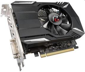 ASROCK vga PHANTOM RX550 2GB použitý s AMD Radeon RX 550 2GB GDDR5 (1x DVI-D, 1x HDMI, 1x DPort)