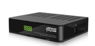 AMIKO Impulse T2/C DVB-T2 H.265 set-top-box (digital DVB-T2 HEVC H.265 přijímač) USB, SCART, RJ45, HDMI, set-top-box