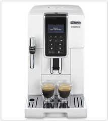 DeLONGHI Dinamica ECAM 350.35.W bílý (plnoautomatický kávovar)