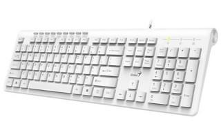 GENIUS klávesnice Slimstar 230 USB CZ+SK bílá Apple design (náhrada Slimstar 130)