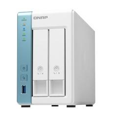 QNAP TS-231P3-2G TurboNAS server s RAID, 2GB DDR3, pro 2x 3,5/2,5in SATA3 HDD/SSD (3x USB3 + 2xGLAN) datové úložiště