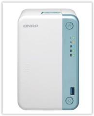 QNAP TS-251D-2G TurboNAS server s RAID (použitý), 2GB DDR4, pro 2x SATA3 HDD/SSD (USB3+USB2+ 1xGLAN datové úložiště)