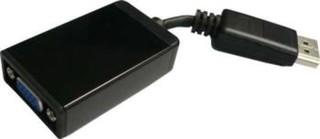Adaptér DisplayPort - VGA Male/Female, délka: 15cm