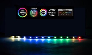 1stCOOL LED pásek RAINBOW-RGB-STRIP (30cm)
