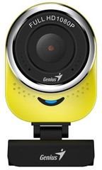 GENIUS VideoCam Webkamera Genius QCam 6000 žlutá Full HD 1080P, mikrofon, USB 2.0,