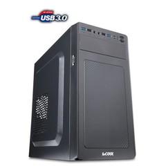 1stCOOL MicroTower STEP 3, ver.2 (se čtečkou karet), ATX black černý, bez zdroje, microtower mATX (2xUSB3, 2xUSB2, Audio) (PC case)