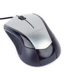 GEMBIRD myš MUS-3B-02-BG , USB optická stříbrno-černá