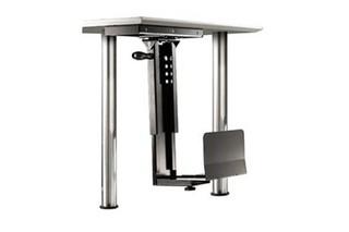 ROLINE Držák PC pod desku stolu, černý, 30kg možnost otočení