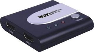 HDMI splitter 2x HDMI 1.3 (použitý) kompatibilní max. rozlišení 1080i a 1080p