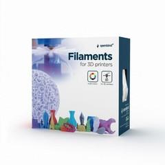 GEMBIRD 3D PETG plastové vlákno pro tiskárny, průměr 1,75 mm, černé, 3DP-PETG1.75-01-BK
