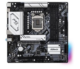 ASROCK B560M PRO4 (intel 1200, 4xDDR4 4800MHz, 6xSATA3, M.2(wifi), HDMI+Dport, 1xGLAN, mATX)