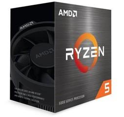 AMD cpu Ryzen 5 5600G AM4 Box (s chladičem, 3.9GHz / 4.4GHz, 16MB cache, 65W, 6x jádro, 12x vlákno), s grafikou, Zen3 Cezanne 7nm CPU