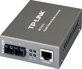TP-LINK MC210CS převodník , 1000TX/1000FX SM, SC, 15 k - Verze 2 (9V)