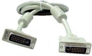 KABEL DVI-DVI, M/M, 10.0m DVI-D, dual link, stíněný GEMBIRD