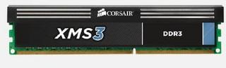CORSAIR 16GB=2x8GB DDR3 1333MHz XMS3 PC3-10666 CL9-9-9-24 1.5V (kit 2ks 8MB s chladičem, pro core IN