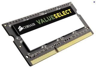 CORSAIR 4GB SO-DIMM DDR3 PC3-12800 1600MHz CL11-11-11-29 1.5V (4096MB)