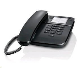 SIEMENS Gigaset DA310 stolní telefon, černý