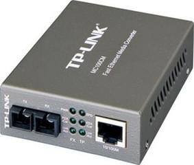 TP-LINK MC100CM převodník, 1x10/100M RJ45 / 1 x multi-mode S - Verze 2 (9V)