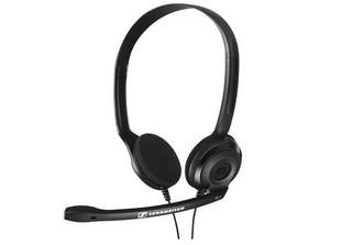 SENNHEISER PC 3 CHAT black (černý) headset - oboustranná sluchátka s mikrofonem