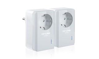 TP-LINK TL-PA4010P STARTER-KIT průchozí Powerline Ethernet adapter 500Mb/s , 2 kusy homeplug