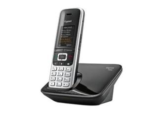 SIEMENS Gigaset S850 bezdrátový telefon, black