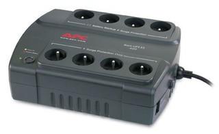 APC BE400-CP ups Back-UPS ES 400, 240W / 400VA, 230V 4+4 běžné zásuvky