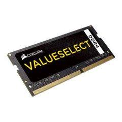CORSAIR 16GB=2x8GB SO-DIMM DDR4 PC4-17000 2133MHz CL15-15-15-36 1.2V (16GB = kit 2ks 8GB)