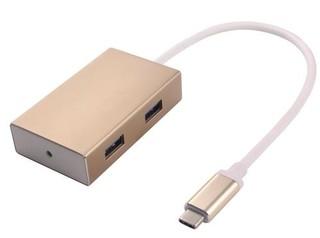 USB3.1 hub 4x USB3.0 Eloxované hliníkové pouzdro