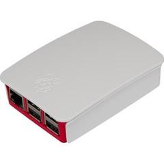 RASPBERRY case Original bílá/růžová pro Raspberry Pi model B+, Rpi 2 B, Rpi 3 B