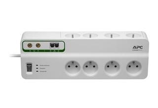 APC PMF83VT-FR SurgeArrest Performance, přepěťová ochrana 230V, 8 zásuvek + TEL a COAX linka