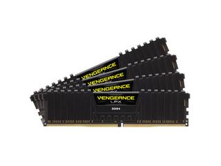 CORSAIR 128GB=8x16GB DDR4 2666MHz VENGEANCE LPX BLACK PC4-21300 CL16-18-18-35 1.2V XMP2.0 (128GB=kit