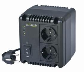 GEMBIRD EG-AVR-1001 regulátor a stabilizátor síťového napětí, 220V, 1000VA