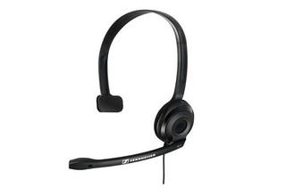 SENNHEISER PC 7 USB black (černý) headset - jednostranné sluchátko s mikrofonem