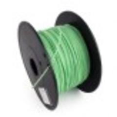 GEMBIRD 3D PLA plastové vlákno pro tiskárny, průměr 1,75 mm, zelené, 3DP-PLA1.75-01-G
