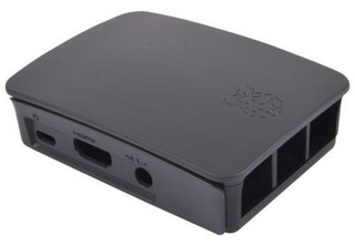 RASPBERRY case Original černá pro Raspberry Pi model B+, Rpi 2 B, Rpi 3 B