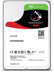SEAGATE ST2000VN004 hdd 2TB SATA3-6Gbps 5900rpm 64MB IronWolf NAS HDD 24x7 1-8bay 180MB/s 3.5 RAID