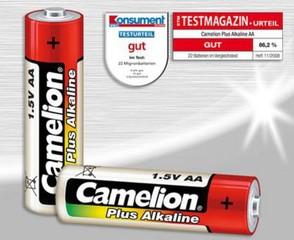 CAMELION 4ks baterie PLUS ALKALINE AA/LR6 blistr baterie alkalické (cena za 4pack)