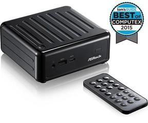 ASROCK BEEBOX J3160/B/BB black použitý (intel celeron J3160 Quad-core, bez MEM, bez HDD, 2xHDMI +DPo