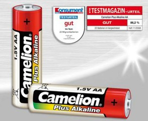 CAMELION 10ks baterie PLUS ALKALINE AA/LR6 blistr baterie alkalické (cena za 10pack)