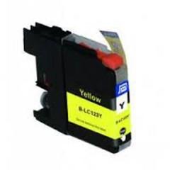 BROTHER LC-123Y kompatibilní náplň žlutá Yellow pro J4410, J4510, J4610, J4710 (LC123Y)