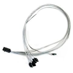 Microsemi Adaptec® kabel ACK-I-HDmSAS-4SATA-SB 0.8M 2279800-R